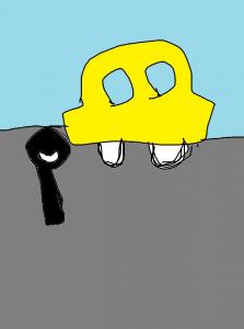 元カノ 見返す 車